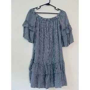 forever21 contemporary off shoulder dress